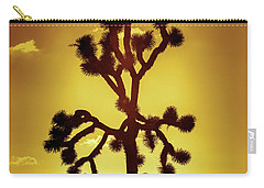 Carry-all Pouch featuring the photograph Joshua Tree by Stephen Stookey