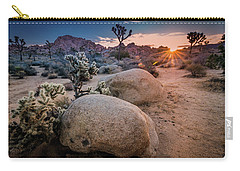 Joshua Tree Sunrise Carry-all Pouch
