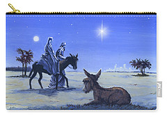 Journey To Bethlehem Carry-all Pouch