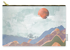 Journey To The Clouds Carry-all Pouch by Katherine Smit