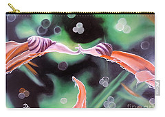 Carry-all Pouch featuring the painting Journey's End by Dianna Lewis