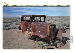 Carry-all Pouch featuring the photograph Journey's End by Gary Kaylor
