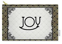 Joy - Art Deco Carry-all Pouch