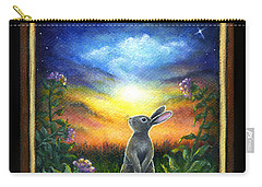 Joy Comes In The Morning Carry-all Pouch by Retta Stephenson