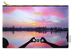 Carry-all Pouch featuring the photograph Joy - Digital Art by Ericamaxine Price