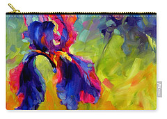 Carry-all Pouch featuring the painting Joy In The Morning by Chris Brandley
