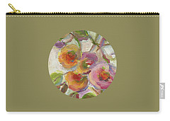 Carry-all Pouch featuring the painting Joy by Mary Wolf