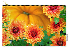 Joy Of Autumn Carry-all Pouch by Angela Davies