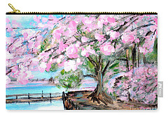 Joy Of Spring. For Sale Art Prints And Cards Carry-all Pouch