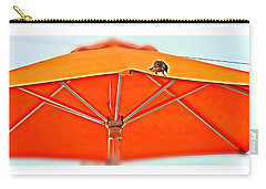 Carry-all Pouch featuring the digital art Joy On An Umbrella by Mindy Newman