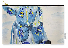 Carry-all Pouch featuring the painting Joy Ride by Maria Langgle