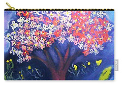 Carry-all Pouch featuring the painting Joy by Winsome Gunning