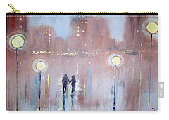Carry-all Pouch featuring the painting Joyful Bliss by Raymond Doward