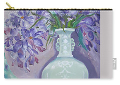 Joyful Flowers Carry-all Pouch