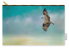Joyful Morning Flight - Osprey Carry-all Pouch by Jai Johnson