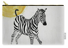 Carry-all Pouch featuring the painting Joyful by Stephanie Grant