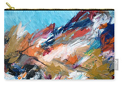 Judean Hill Abstract Carry-all Pouch