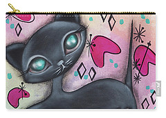 Judy Cat Carry-all Pouch by Abril Andrade Griffith