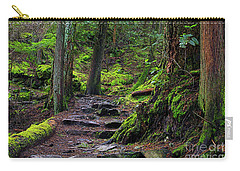 Carry-all Pouch featuring the photograph Jug Island Beach Trail by Sharon Talson