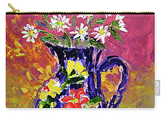 Jug Of Daisies Carry-all Pouch