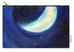 July Moon Carry-all Pouch by Nancy Moniz