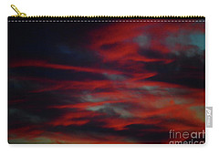 Carry-all Pouch featuring the photograph July Sky by Jesse Ciazza