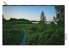 July Sunset At The Lake Enajarvi Carry-all Pouch