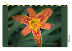 July Tiger Lily Carry-all Pouch