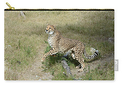 Carry-all Pouch featuring the photograph Jump 2 by Fraida Gutovich