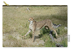Carry-all Pouch featuring the photograph Jump 3 by Fraida Gutovich