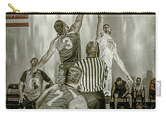 Carry-all Pouch featuring the photograph Jump Ball by Ronald Santini