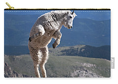 Carry-all Pouch featuring the photograph Jump by Gary Lengyel