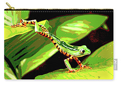 Jumping Frog Carry-all Pouch by Charles Shoup