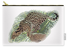 Pouncing Ocelot Carry-all Pouch