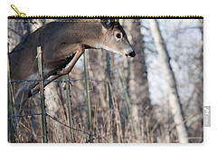 Jumping White-tail Buck Carry-all Pouch