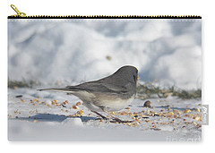 Junco Under Feeder Carry-all Pouch