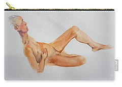 Carry-all Pouch featuring the painting June 2013 by Mira Cooke