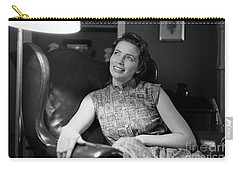June Carter, 1956 Carry-all Pouch by The Harrington Collection