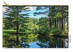Carry-all Pouch featuring the photograph June Day At The Park by Kendall McKernon