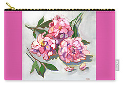 June Peonies Carry-all Pouch