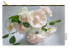June Roses With Honeysuckle Carry-all Pouch