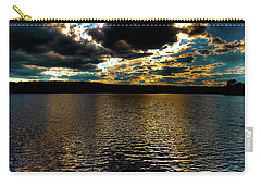 Carry-all Pouch featuring the photograph June Sunset On Nicks Lake by David Patterson
