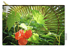 Jungle Begonia Carry-all Pouch