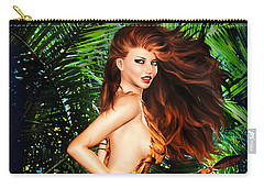 Jungle Girl Carry-all Pouch