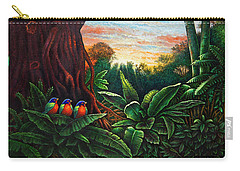 Jungle Harmony 3 Carry-all Pouch