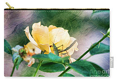 Jungle Rose Carry-all Pouch