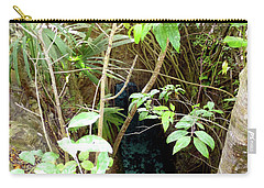 Carry-all Pouch featuring the photograph Jungle Stream by Francesca Mackenney