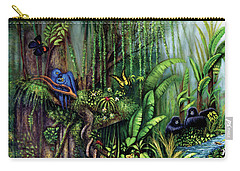 Jungle Talk Carry-all Pouch