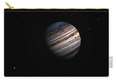 Jupiter And It 4 Major Moons Carry-all Pouch