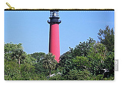 Jupiter Lighthouse Carry-all Pouch by Sally Weigand
